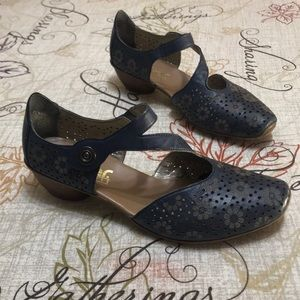 Rieker Anti-stress Leather Shoes Size 8 - 8.5/39